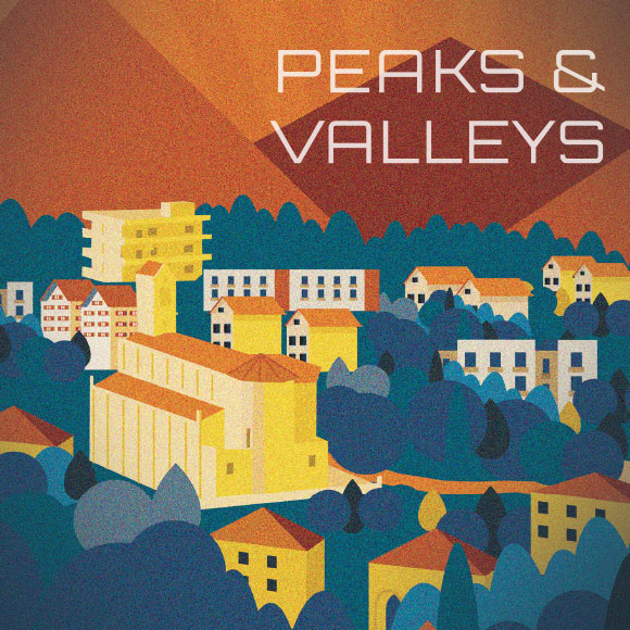 Peaks & Valleys Album Cover