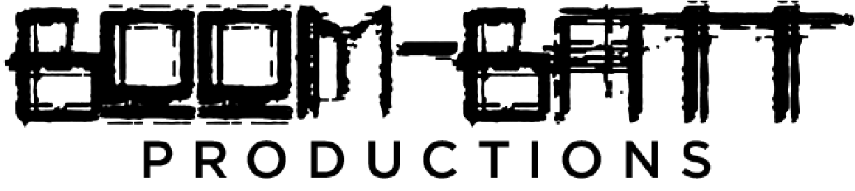 Boom-Batt Productions Logo Black